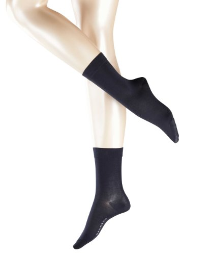 2 Paar FALKE Cotton Touch Damensocken (35-38, dark navy)