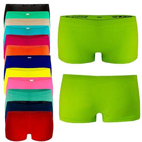 4er Pack Damen Boxershorts Panties in Farbmix GR. L/XL Unterwäsche Hot Pants
