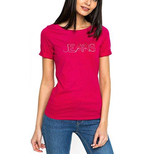 ARMANI JEANS T-Shirt Rundhals pink