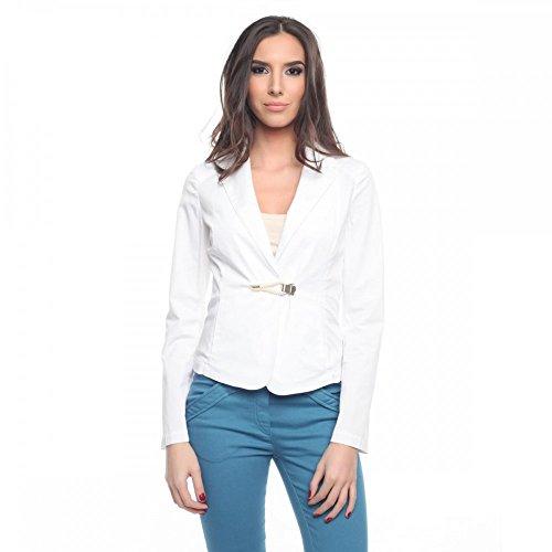 Armani Jeans Damen Blazer V5N18DR, Größe:44;Farbe:Weiß