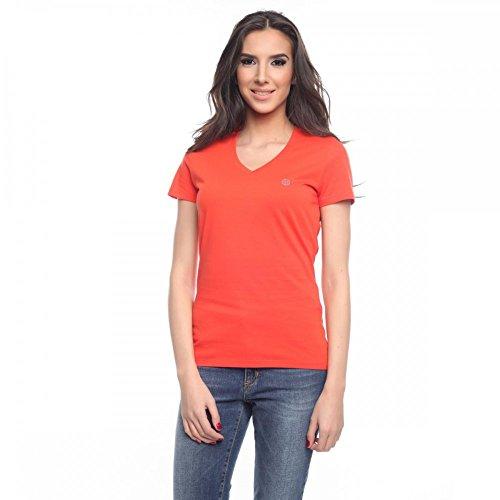 Armani Jeans Damen T-Shirt 05H17CO, Größe:40;Farbe:Orange