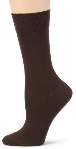 Burlington Damen Socken  22015 Jersey Socke, Gr. 36-41, Braun (dark brown 5233)