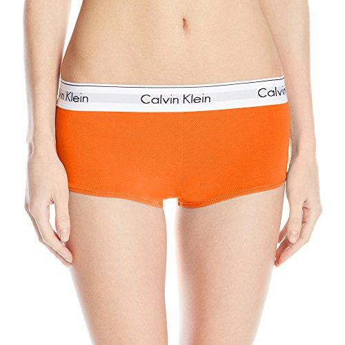 Calvin Klein Damen Moderne Baumwoll Short Gr. M,  - Desert Hibiscous