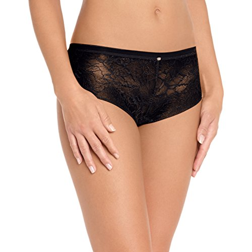 Calvin Klein Damen Pant F3327E Naked Glamour All Lace Hipster, Gr. 36 (S), Schwarz (001 Black)