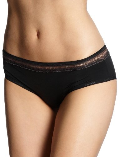 Calvin Klein underwear Damen Slip F3267E, Schwarz (001 Black), 34 (M)