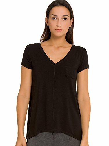 DKNY Urban Essentials Shirt mit Zipfelschnitt Damen