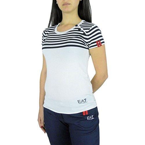 EA7 Emporio Armani Damen T-Shirt Weiß weiß Small