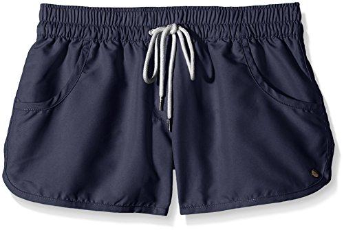 ESPRIT Bodywear Damen Shorts Badeshorts ATLANTIC BEACH, Einfarbig, Gr. 36 (Herstellergröße: S), Blau (NAVY 400)