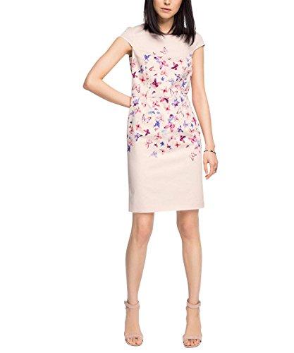 ESPRIT Collection Damen Kleid mit Stretch, Knielang, Gr ...