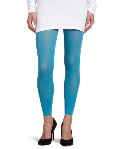 ESPRIT Damen Leggings 19463 50 DEN 3/4 LE, Gr. 40/42, Blau (l. jeans 6310)