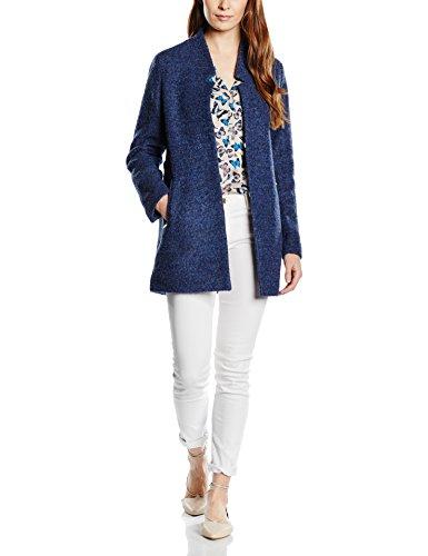 ESPRIT Damen Mantel 016EE1G017, Gr. 36, Blau (BLUE 430)