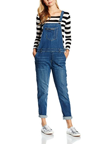 ESPRIT Damen Overall, Overall, GR. 42 (Herstellergröße: Large), Blau (Blue Medium Wash)