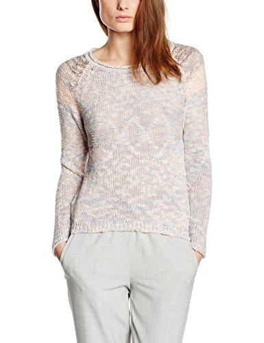 ESPRIT Damen Pullover, Mouline Sweater, GR. 36 (Herstellergröße: Small), Rosa (Pastel Pink)