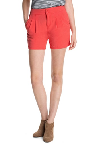ESPRIT Damen Short 063EE1C006, Gr. 38, Rot (610 hot coral)