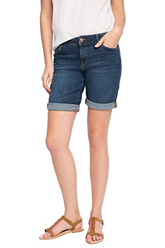 ESPRIT Damen Short mit Stretch, Gr. W29, Blau (BLUE MEDIUM WASH 902)