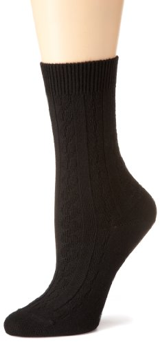 ESPRIT Damen Socken, 18541 Plait SO, Gr. 35-38, Schwarz (black 3000)