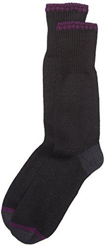 ESPRIT Damen Socken Cosy Rib, Gr. 39/42, Schwarz (Black 3000)