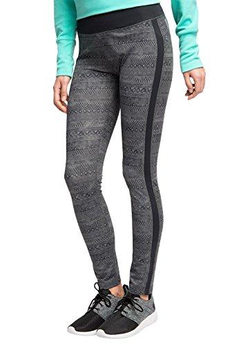 ESPRIT SPORTS Damen Sporthose E - Dry Funktions pants, Gr. 38 (Herstellergröße: M), Grau (DARK GREY 3 022)