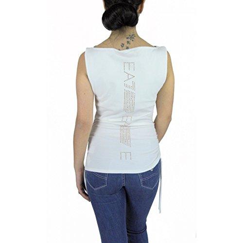 Emporio Armani Damen T-Shirt Weiß weiß Medium