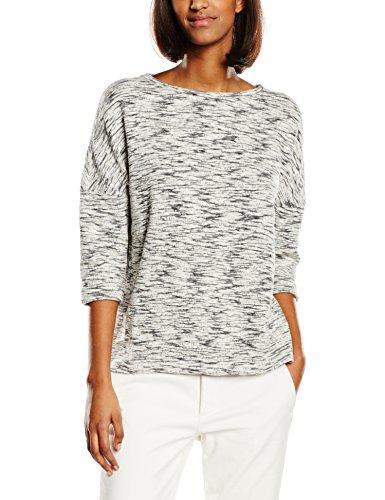 esprit damen sweatshirt gr 38 grau gris medium grey mode outlet online. Black Bedroom Furniture Sets. Home Design Ideas