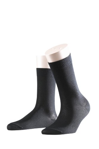 FALKE Damen Socken 47673 Cotton Touch SO, Gr. 35/ 38 Schwarz (Black 3009)