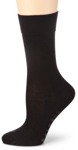 FALKE Damen Socken 47686 Sensitiv London SO, Gr. 39/42 ,Schwarz (black)