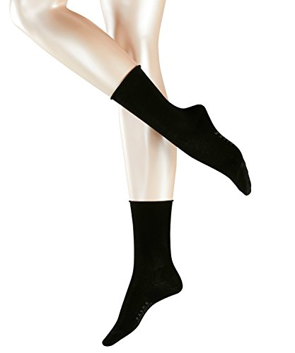 FALKE Damen Strick Socken Active Breeze, Gr. 39/42, Schwarz (black 3009)