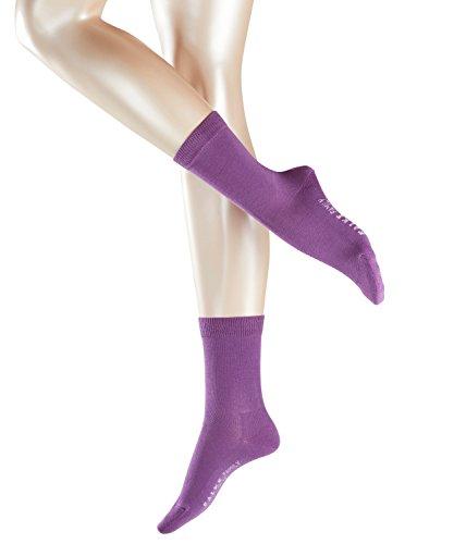 FALKE Damen Strick Socken Family, Gr. 35/38, Violett (byzantinum 8234)