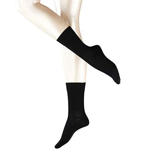 Falke Damen Socken London Sensitive 4er Pack, Größe:35-38;Farbe:Black (3009)