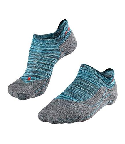 Falke Running Damen RU4 Invisible Trend Sneaker Laufsocken 16721 1 Paar, Farbe:Blau;Strumpf-/Sockengröße:39-40;Artikel:-6912 mermaid