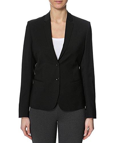 Filippa K Damen Anzugjacke Jackie Cool Wool Jacket, Schwarz (Black), 10 (Herstellergröße: Medium)
