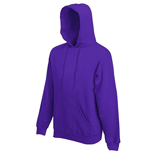 Fruit of the Loom - Kapuzen-Sweatshirt 'Hooded Sweat' XL,Purple