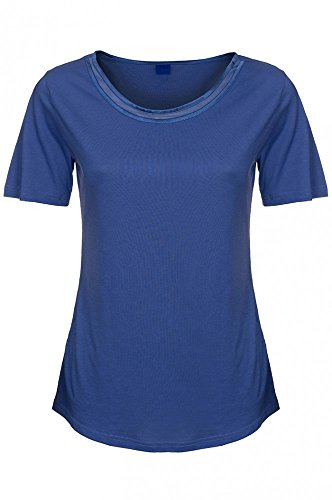 JOOP Blau Bluse Top Freizeit Shirt T-Shirt Damen 221202 , Größenauswahl:XL