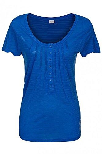 JOOP Blau Bluse Top Freizeit Shirt T-Shirt Damen P8201-34902, Größenauswahl:M