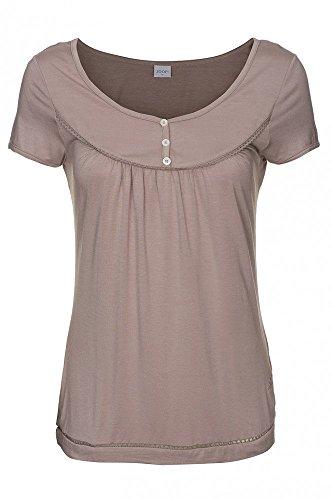JOOP Braun Bluse Top Freizeit Shirt T-Shirt Damen P8201-326 , Größenauswahl:S