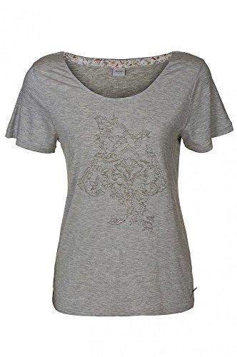 JOOP Grau Nachtwäsche Top Freizeit Shirt T-Shirt Damen P8201-135, Größenauswahl:XL