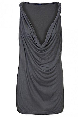JOOP Grau Top Freizeit Elsa Nachtwäsche Shirt Top Damen 219080 , Größenauswahl:L