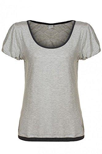 JOOP Hellgrau Top Freizeit Fallon Shirt T-Shirt Damen P8201-343 , Größenauswahl:S