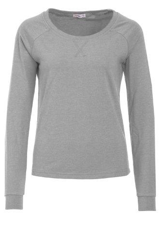 Jacqueline de Yong Damen Sweatshirt AI-Da/ze LS O-Neck Light Grey Melange M