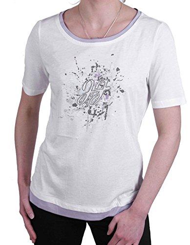 Jette Joop Damen Shirt T-Shirt Kurzarm Weiß Gr. 38 #23(38)