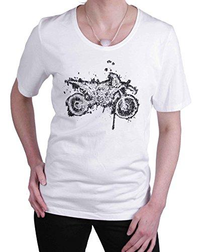 Jette Joop Damen Shirt T-Shirt Kurzarm Weiß Gr. 44 #26(44)