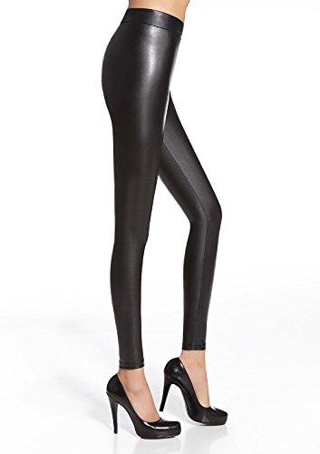 Luxus Leggings ELEN in Lederoptik elgant, stilvoll und sexy aus ECO-Leder (S)