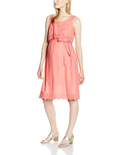 MAMALICIOUS Damen Umstandskleid Mlfemmy Wsl Woven Dress, Rosa (Tea Rose), 42 (Herstellergröße: XL)