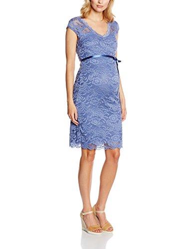 MAMALICIOUS Damen Umstandskleid Mlnewmivana Cap Jersey Dress, Blau (Colony Blue), 38 (Herstellergröße: M)