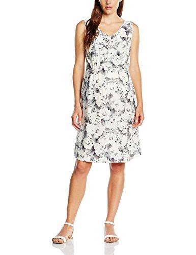 MAMALICIOUS Damen Umstandskleid, Mlpabla Lia S/L Woven Dress NF Knielang , Gr. 40 (Herstellergröße: L), Weiß - Bright white