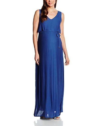 Mamalicious Damen Umstandskleid, Gr. 42 EU (Herstellergröße : XL), Blau - Blue (Twilight Blue)