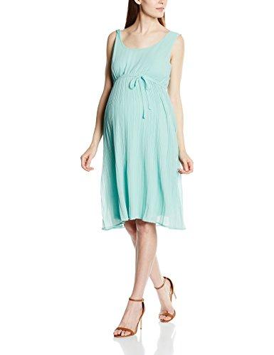 Mamalicious Damen Umstandskleid, Libi, GR. 38 (Herstellergröße: Medium), Blau (Aqua Haze)