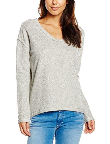 Marc O´Polo Denim Damen, Sweatshirt, 641416354071, Elfenbein (pebble White 111), S (Herstellergröße S)