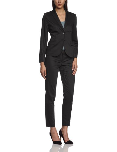 More & More Damen Blazer Regular Fit 88996552, Gr. 34, Schwarz (black 790)