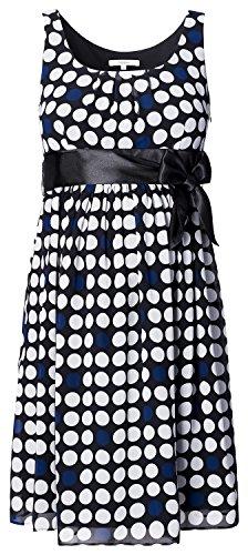 NOPPIES Dress woven sl Luna Umstandskleid Kleider Dip-Dye-Effekt & Raffungen Dress 50801 (40, C270 - Black)